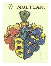 Fot. GJ; herb maltzanĂłw z herbarza  Johanna Siebmachera