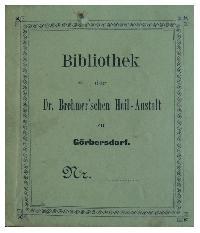 Fot. Grzegorz Janowski; Ex libris biblioteki  sanatorium w  Gorbersdorfie