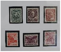 Fot. GJ; znaczki Poczty Polskiej wykonane  przed wyjazdem  do Szwecji