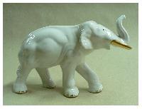 Fot. GJ; S�o�, porcelana, z�ocenie, lata 60-te XX w.