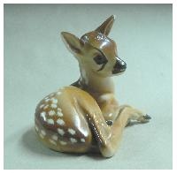 Fot. GJ; Jelonek, porcelana malowana r�cznie  lata 50-te XX w.